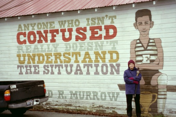 Edward R. Murrow grew up just a few miles north of Edison.